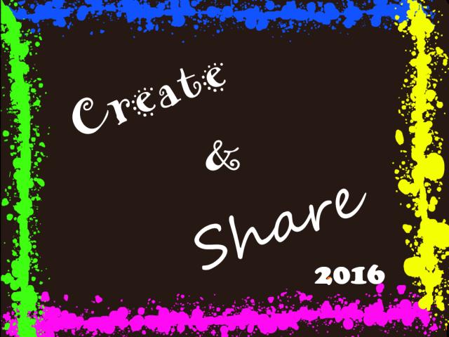 Create & Share 2016
