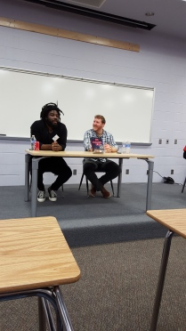 Jason Reynolds & Brendan Kiely talk about the process of writing All American Boys - on different continents!