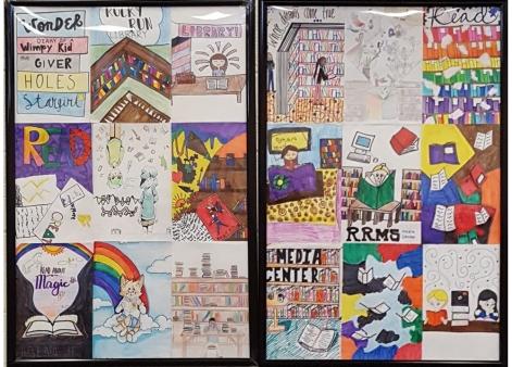 Framed Student Art