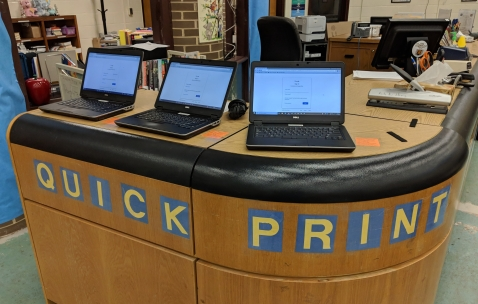 Quick print station